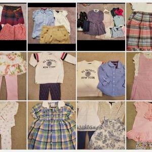 Girl Ralph Lauren Clothes Tops/Dresses/Sets 3M-6Y